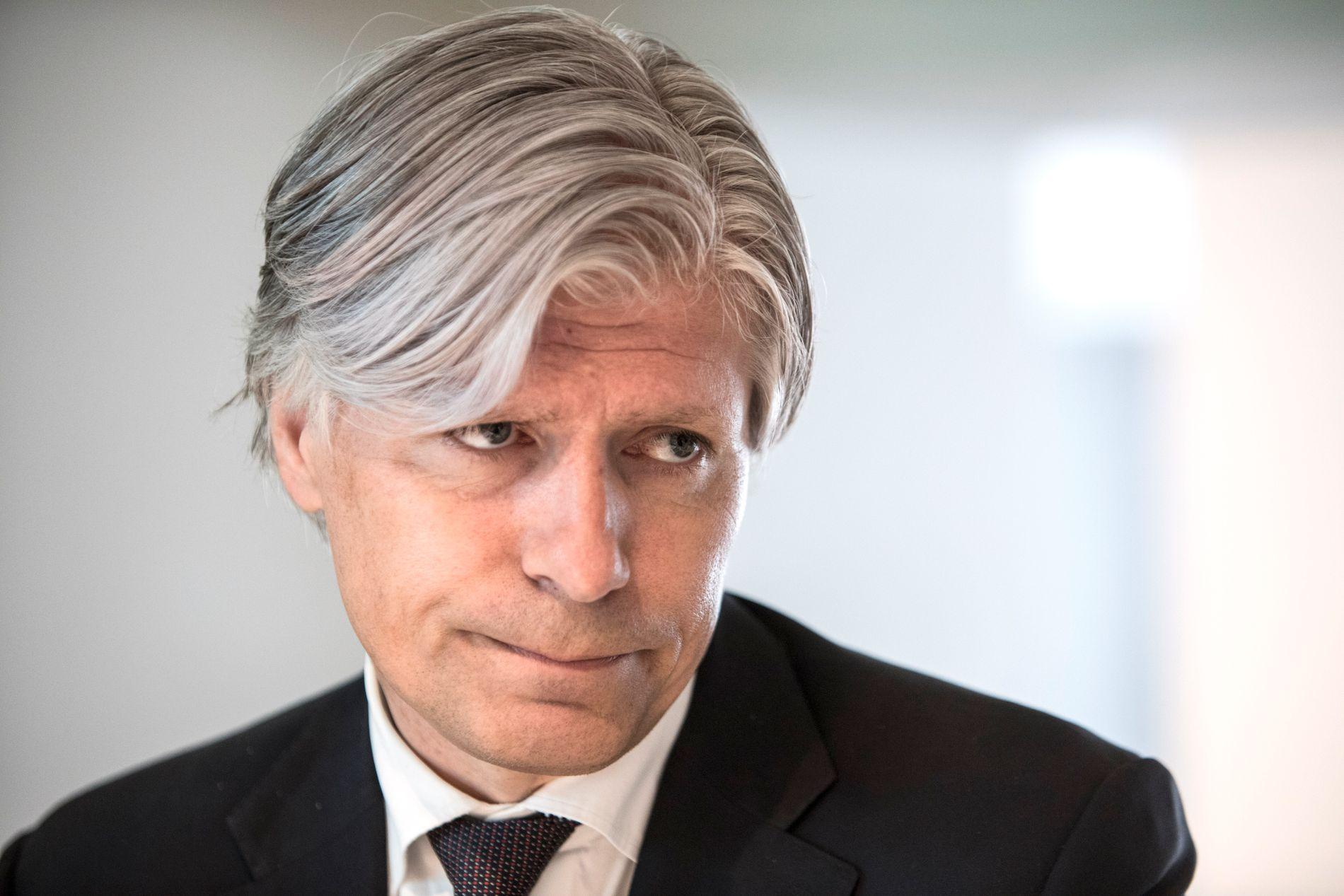 ALVOR: Miljø- og klimaminister Ola Elvestuen fra Venstre synes fredagens klimademonstrasjoner viser et stort alvor.