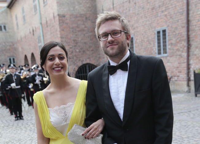FAREN OVER: Tajik og Heggelund. Hadde det ikke vært for at alle ryktemakerne presset på så lenge, hadde vi aldri fått vite at ryktene om ekteparet var usanne.