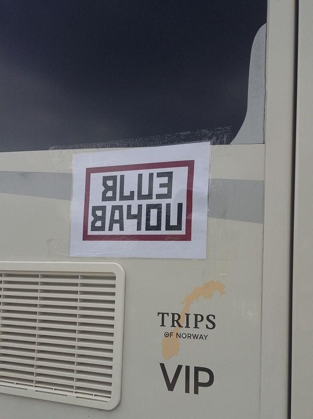 ARBEIDSTITTEL: Allerede i februar ble arbeidstittelen på «Black Widow»-filmen avslørt – «Blue Bayou». Dette bildet ble tatt tirsdag.