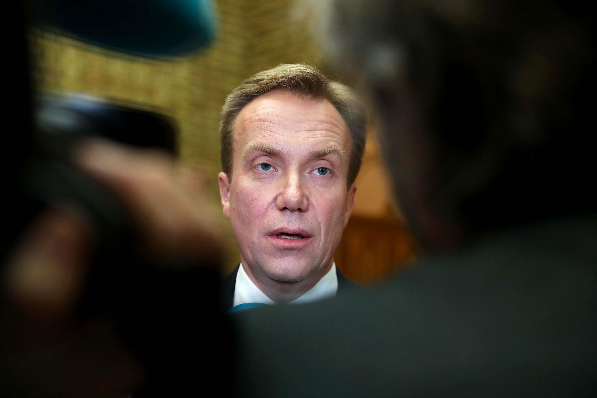 TAUS: Utenriksminister Børge Brende (H) har så langt ikke ønsket å stille til intervju.