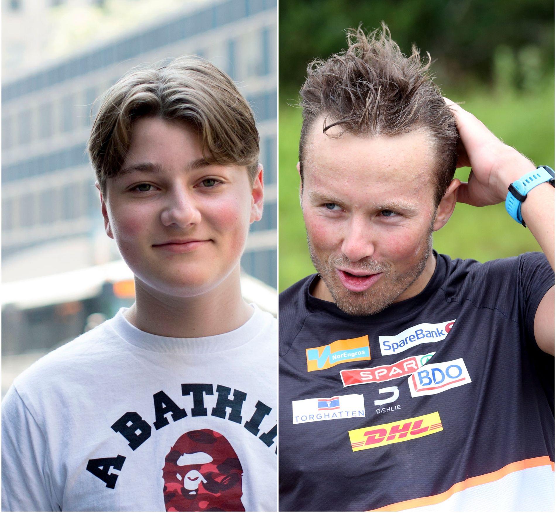 TO VERDENSMESTERE: Emil «Nyhrox» Bergquist Pedersen og Emil Iversen.