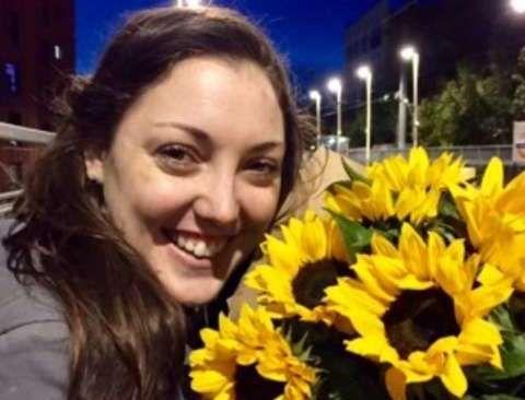 DREPT: Australske Kirsty Boden (28), er andre identifiserte offeret i terrorangrepet.