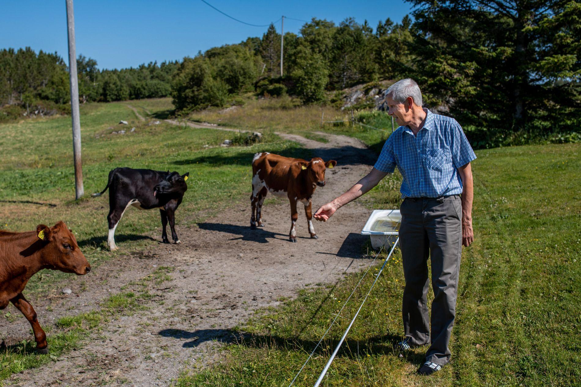 FORSKJELLER: Terje Solbakken fra Nord-Trøndelag er alvorlig kreftsyk og er en av dem som har fått nei på søknad om unntaksmedisin. VGs gjennomgang tyder på at det kunne vært annerledes hvis han bodde mer sentralt til.