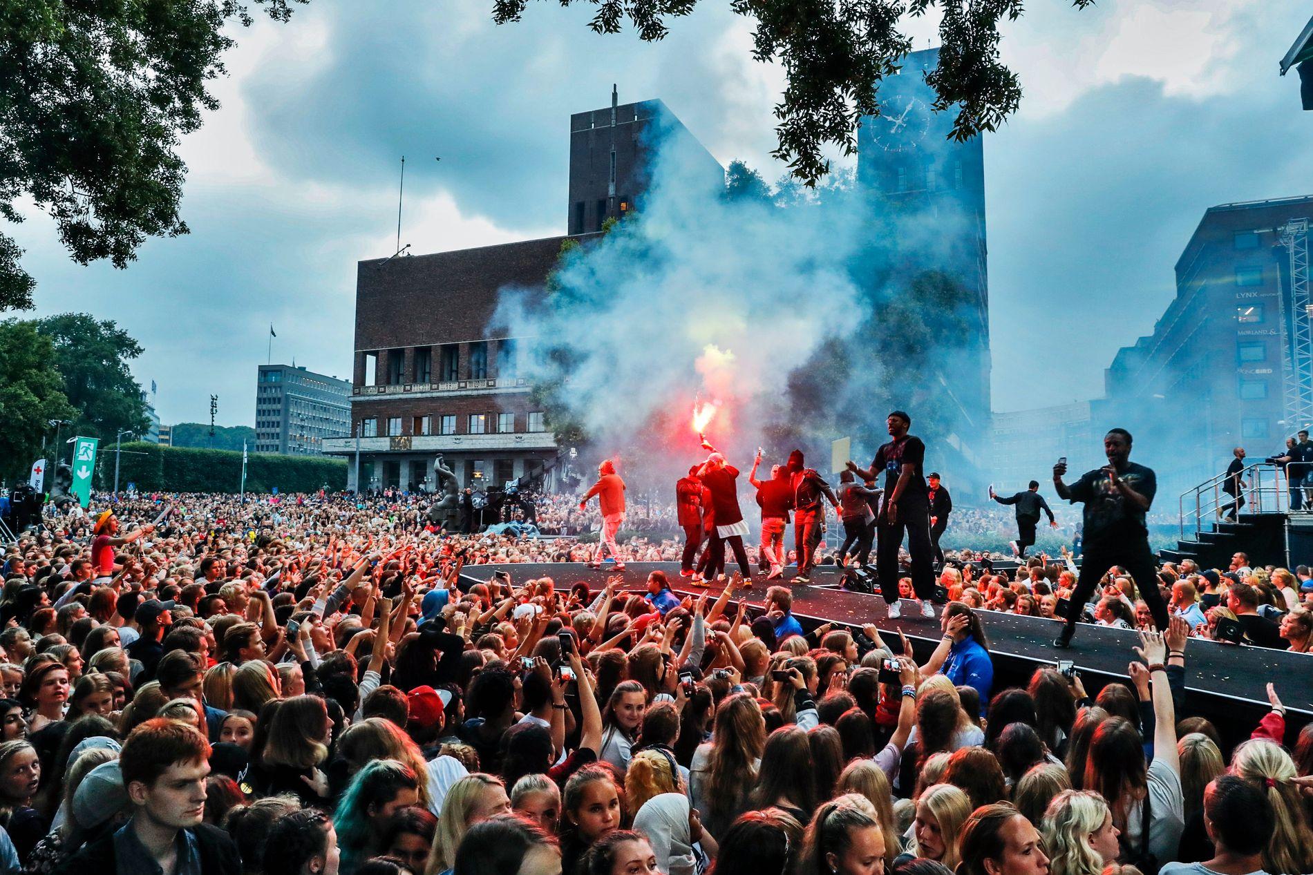 SNART FEST: VG-Lista braker løs 22. juni. Her fra konserten i 2016.