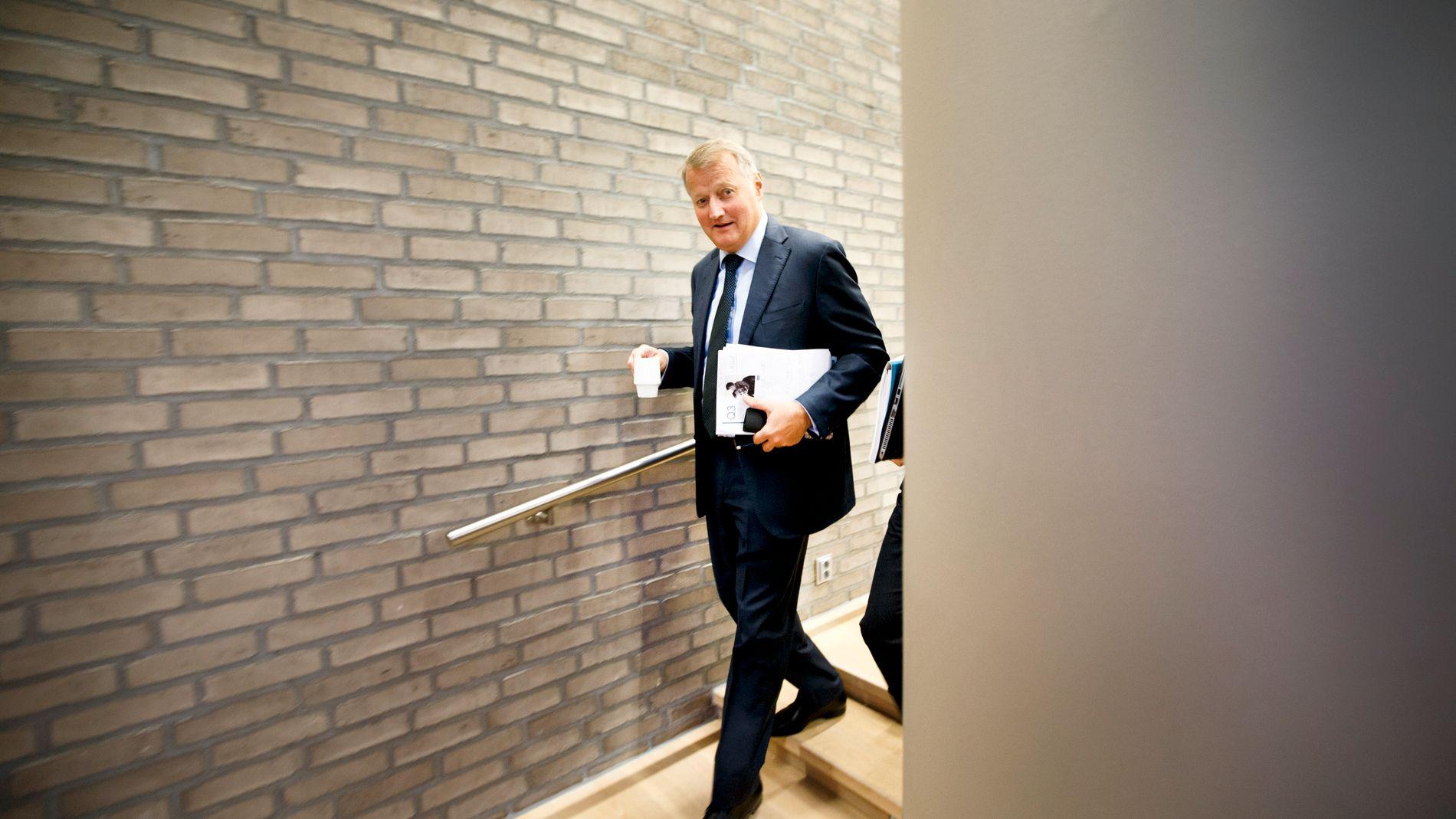 TRAPPER NED: 1. september er det slutt for Rune Bjerke, som gir seg som konsernsjef i DNB. Han blir ikke tuppet på dør, og skal sitte i styret til Vipps og Fremtind for DNB frem til neste sommer.
