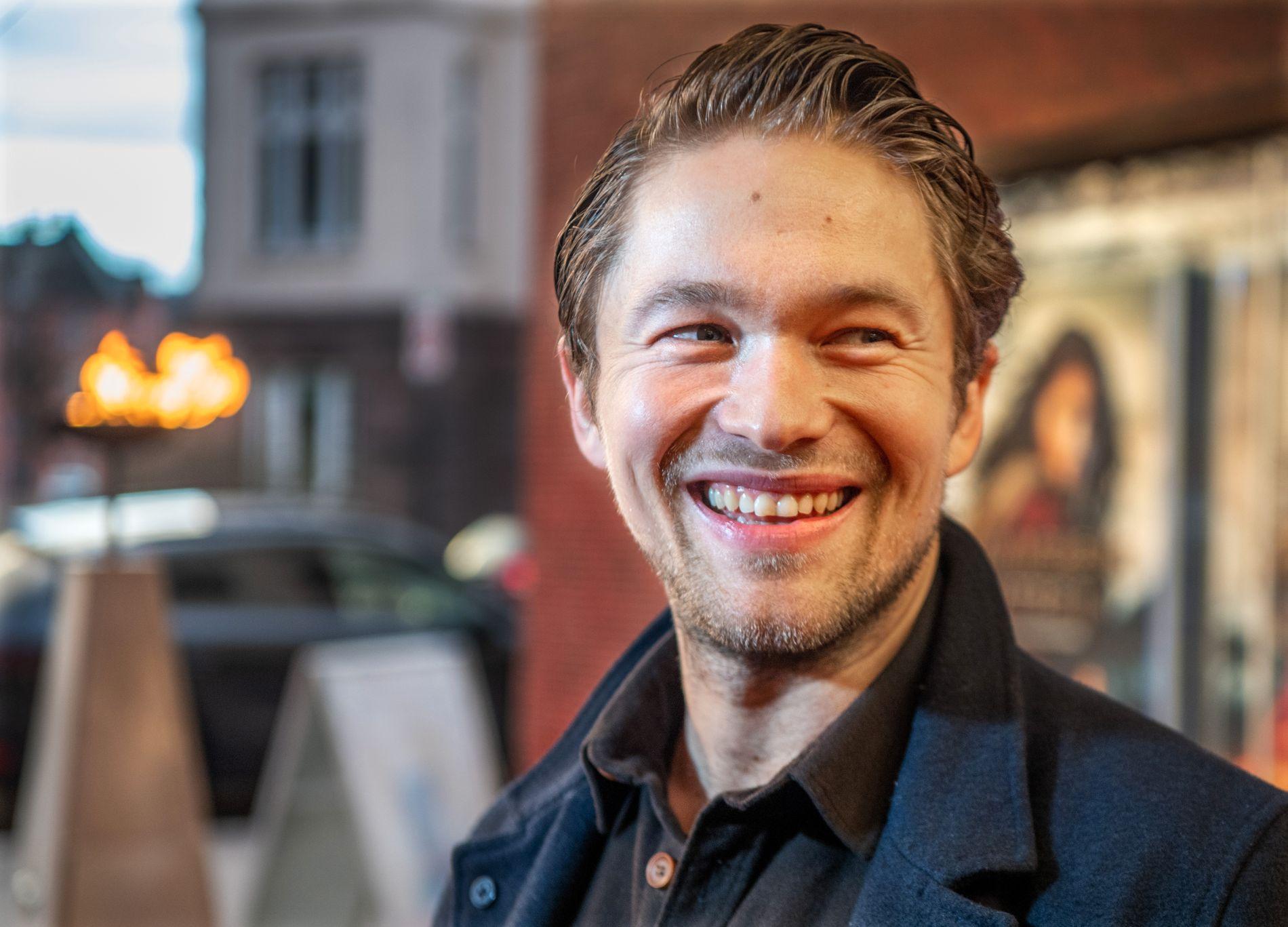 KLAR TIL DYST: Jakob Oftebro bekrefter til VG at han er klar for «Hamilton» igjen, nesten ett år etter at han ble alvorlig skadet på filmsettet.