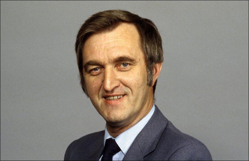 DØD: Tidligere fiskeriminister Thor Listau (H) døde lørdag. Bildet er tatt i 1981. Foto: Scanpix