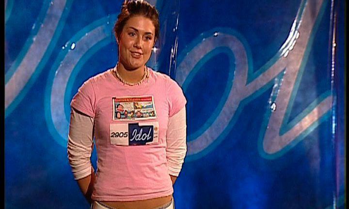 STARTEN: Tone Damli i «Idol» for 13 år siden.