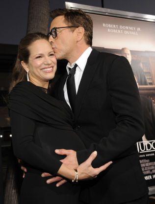KJÆRLIG: Robert Downey Jr og Susan på en tilstelning tidligere i høst.