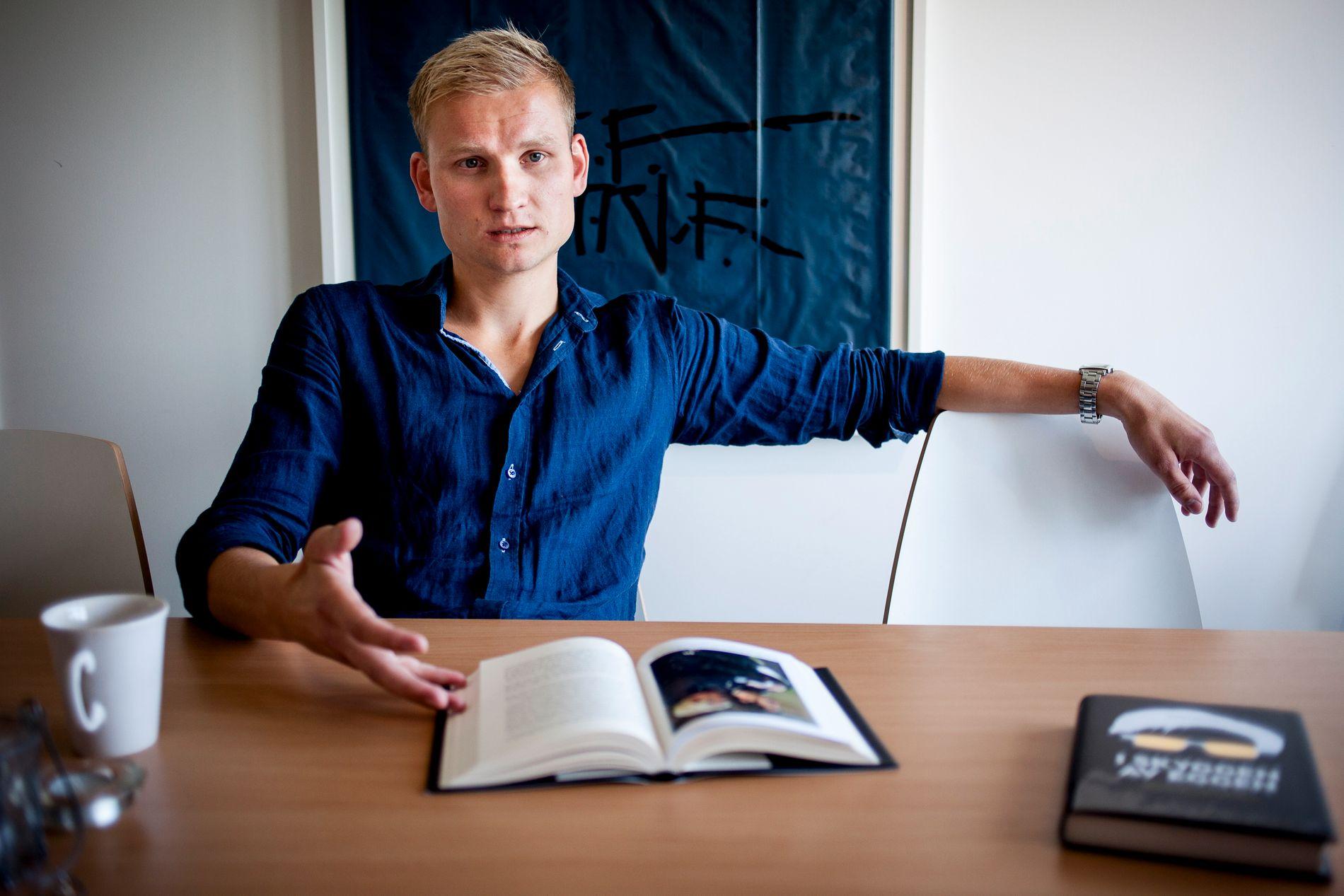 ADRESSA-KOMMENTATOR: Birger Løfaldli, her fra en boklansering tilbake i 2014.