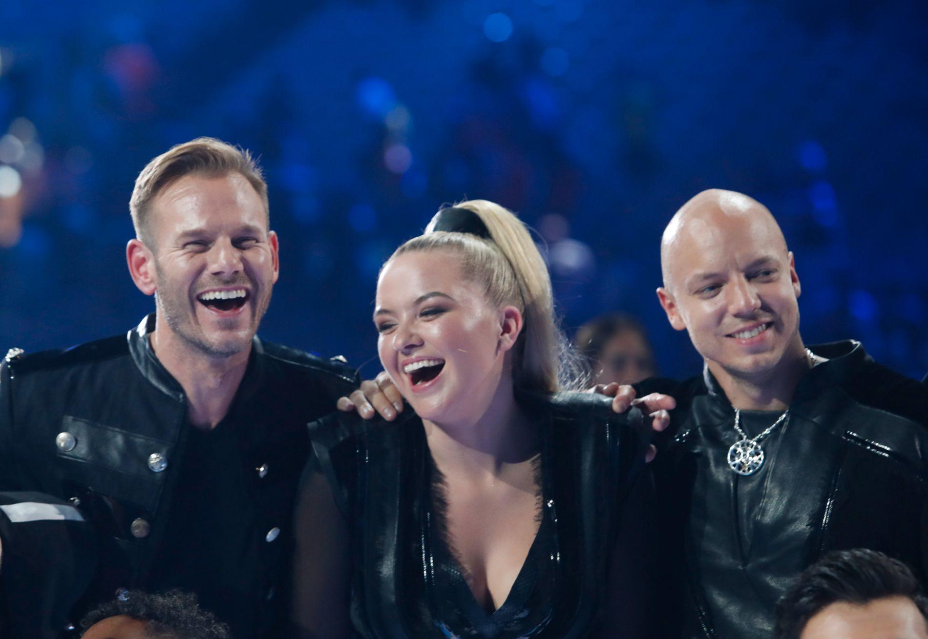 JOBBER GRATIS: KEiiNO, fra venstre: Tom Hugo Hermansen, Alexandra Rotan og Fred Buljo.