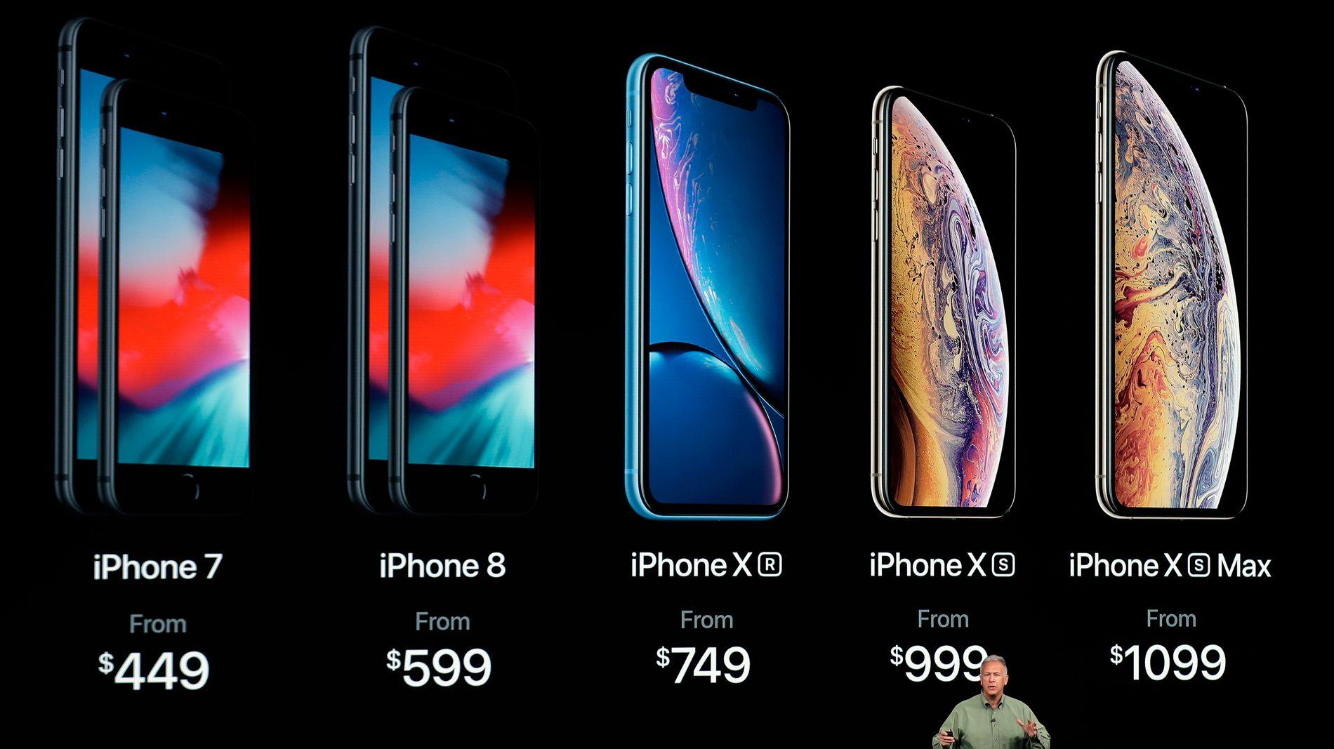 BILLIGERE I USA: Men også over Atlanteren reageres det på at Apples tre nye telefoner legger seg i et høyere prissegment.