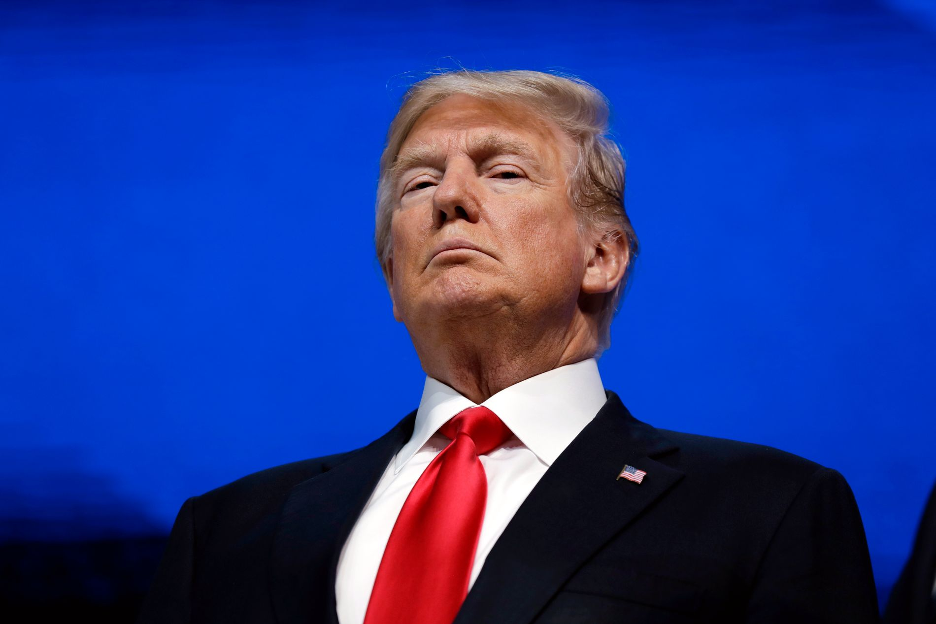 LAGT MERKE TIL: Donald Trump har 47,7 millioner følgere på Twitter, hans foretrukne mediekanal. Lørdag tvitret presidenten om seksuell trakassering. Det ble lagt merke til.