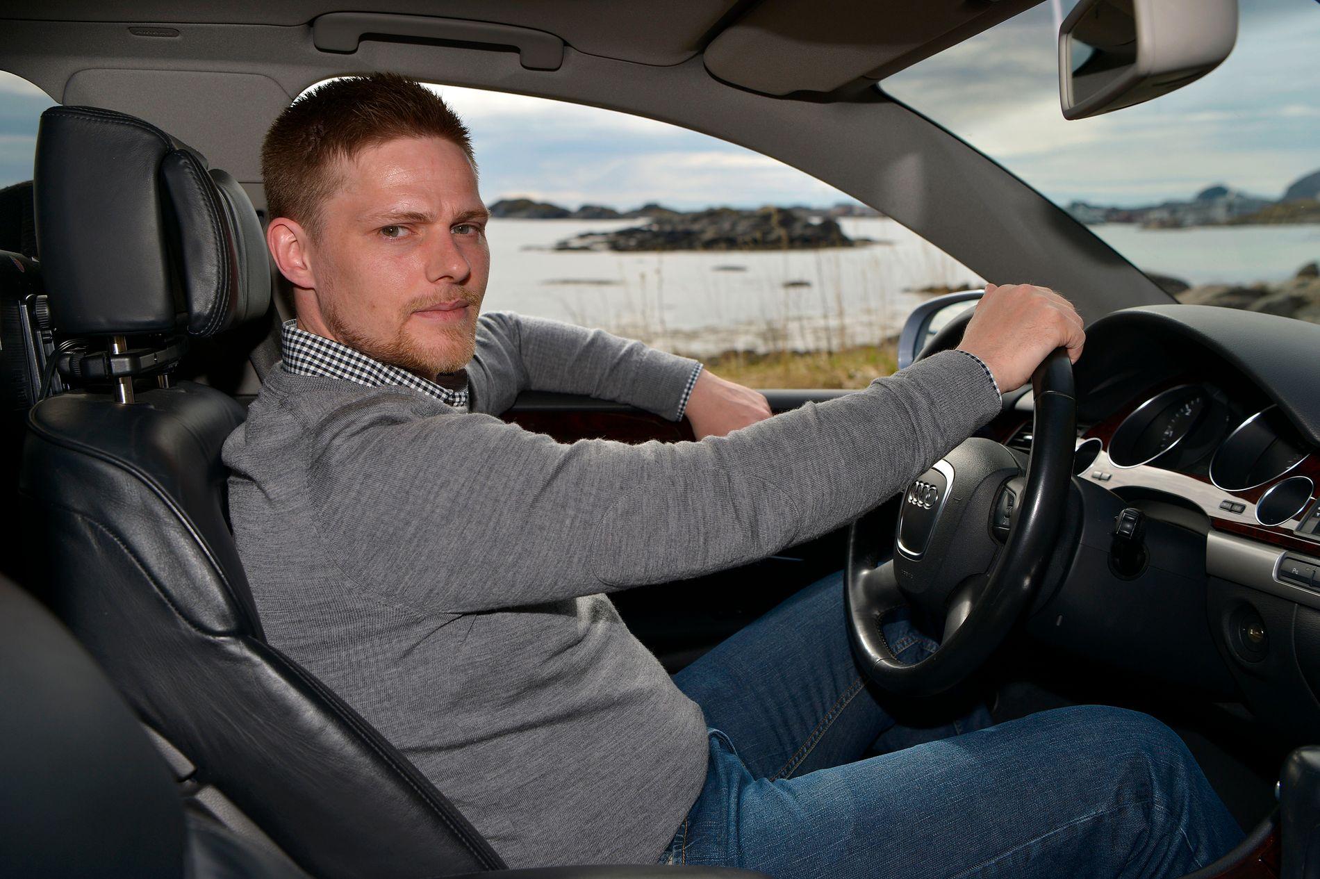 BLE SAKSØKT: Gunnar Bjørkli (34) i Svolvær sier han var så sikker på at han hadde rett at han valgte å representere seg selv i retten.