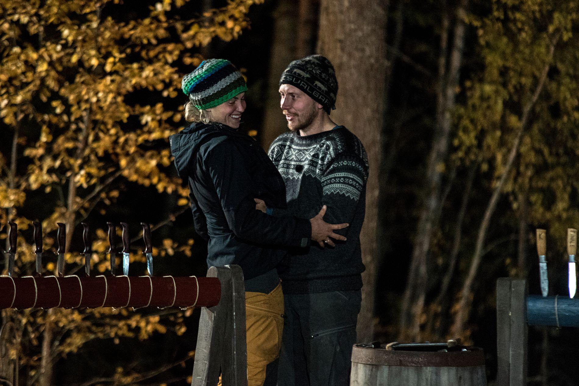 POPULÆRE: Vinner Tonje Frøystad Garvik blir gratulert av Kjetil Nørstebø.