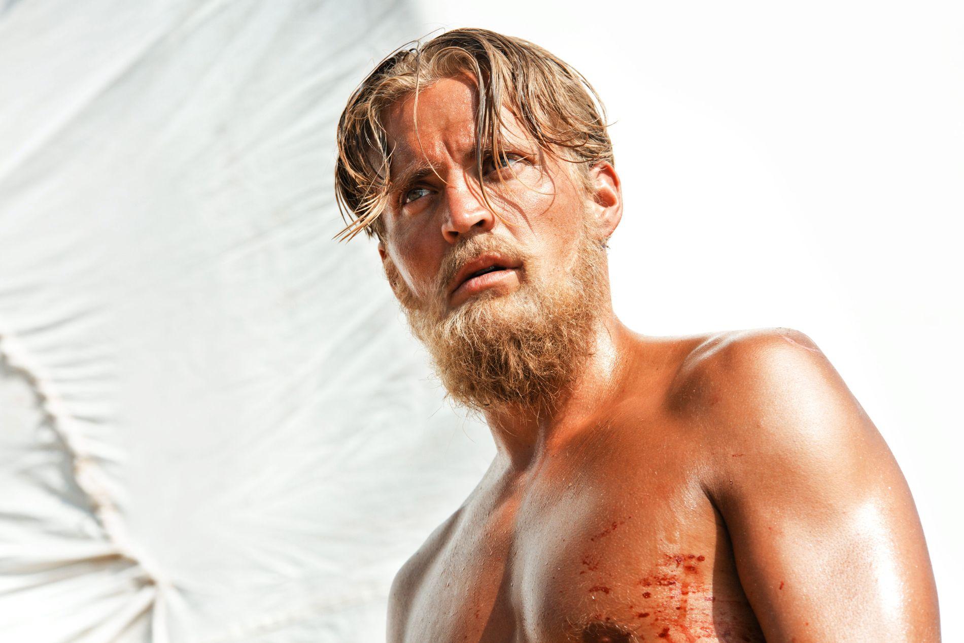 OSCARNOMINERT: Tobias Santelmann som Knut Haugland i «Kon-Tiki» som var Oscar-nominert i 2013.