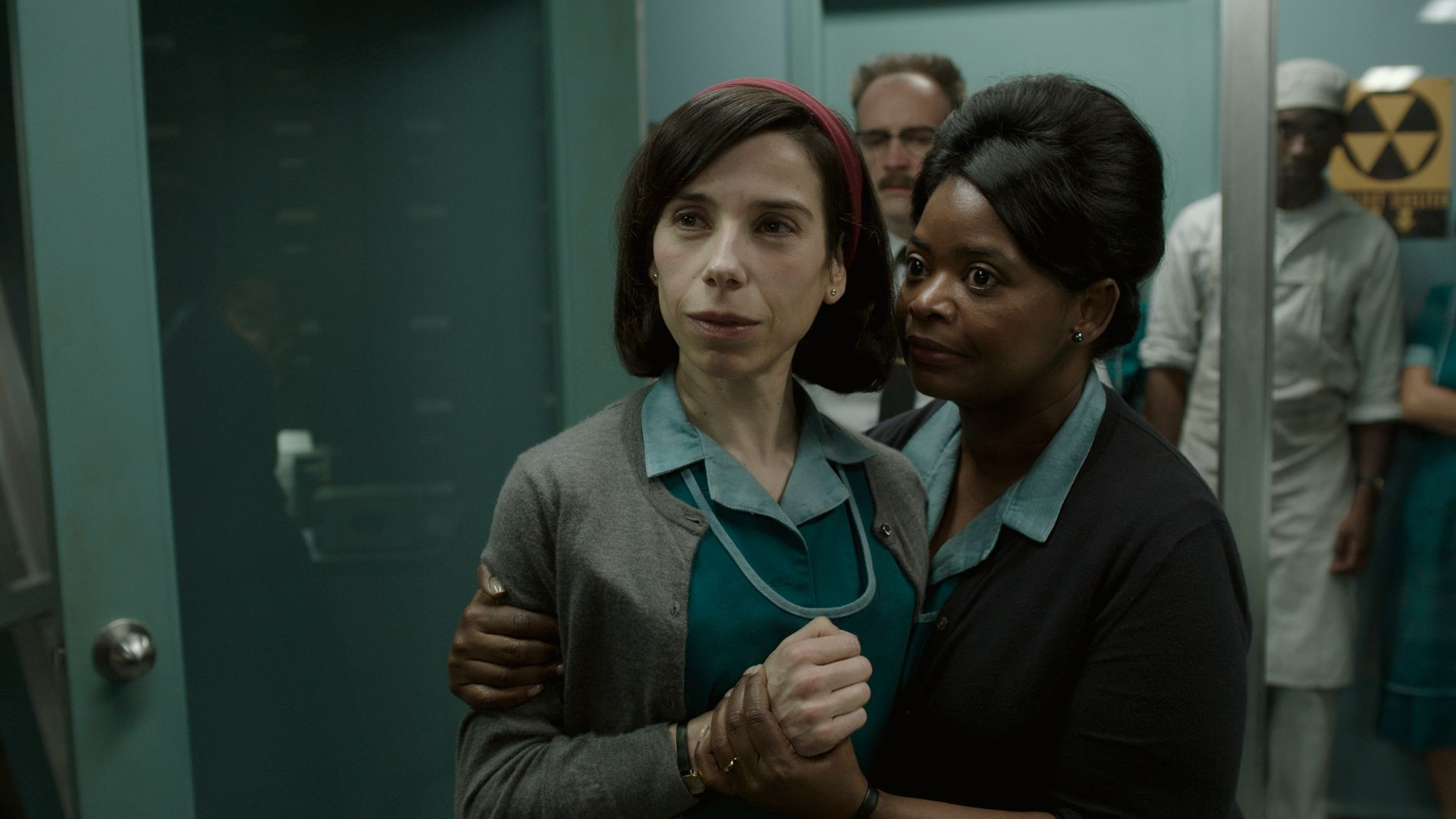 KOMMER TIL NORGE: Sally Hawkins og Ocatavia Spencer i «The Shape of Water»