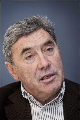 SYKLET PÅ BLYTUNG SYKKEL: Eddy Merckx vant VM på en sykkel som veide 11,4 kilo. Foto: Jørgen Braastad