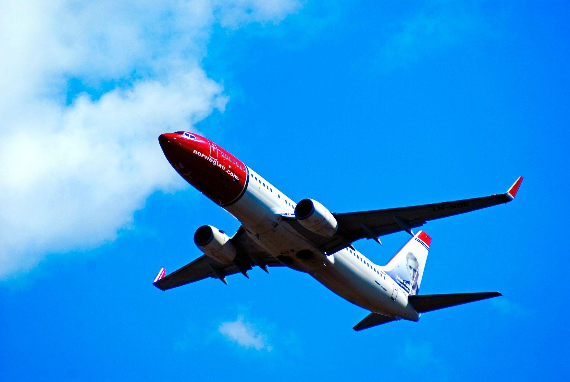 OVERGREP: En 41 år gammel mann skal ha forgrepet seg på en kvinne under en Norwegian-flyvning fra London til Seattle i januar i år. Bildet er tatt i forbindelse med en annen sak.