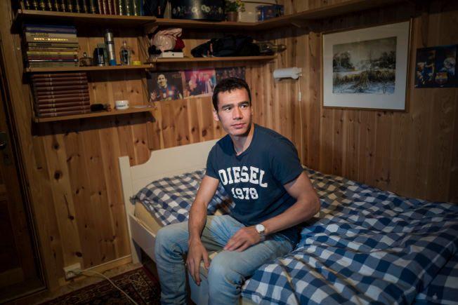 HJEMME PÅ TRYSIL: Ismat Mohammadi (23) bor nå på Trysil, og går på videregående for å bli snekker.