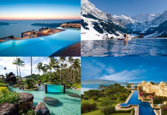Drøm deg bort med inspirasjon: 10 fantastiske bassenger