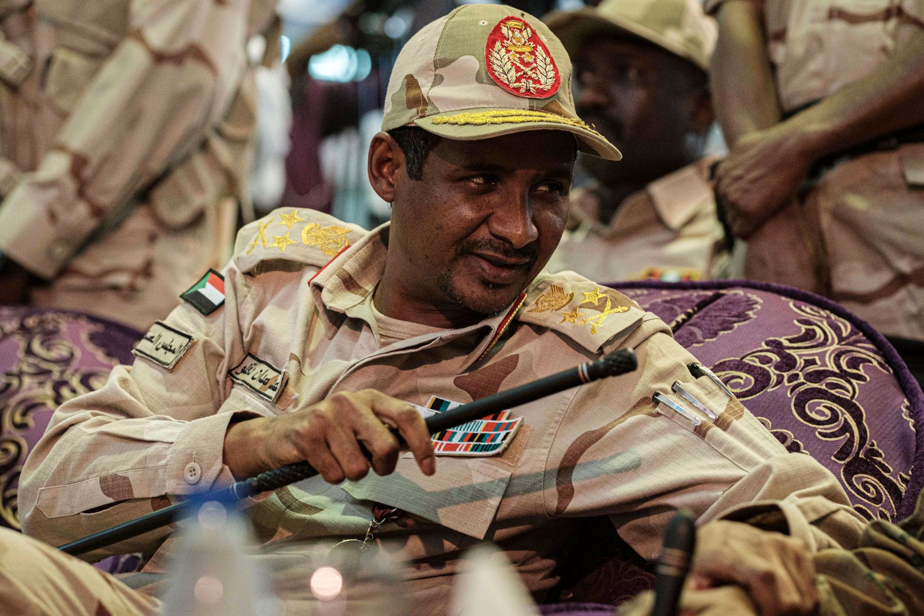 LEDEREN: Generalen Mohamed Hamdan Dagalo, kjent som Himediti, leder Militærrådet og er kommandør for Rapid Support Forces, styrkene som drepte demonstranter.