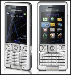 Denne kameratelefonen er 1,25 cm tykk. Foto: Sony Ericsson