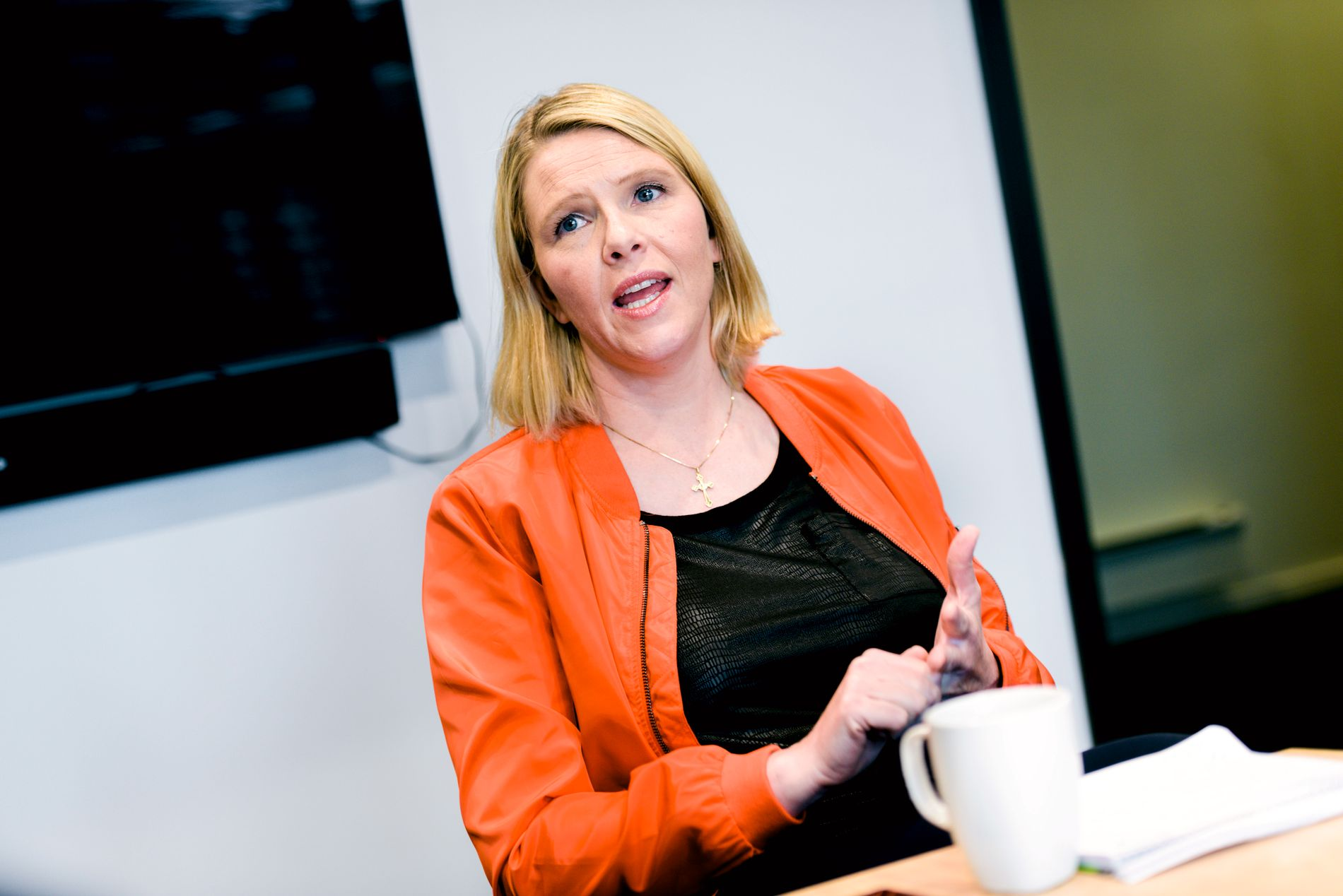 FLAUT: Innvandrings- og integreringsminister Sylvi Listhaug synes Joner sitt nye asyl-stunt er flaut.