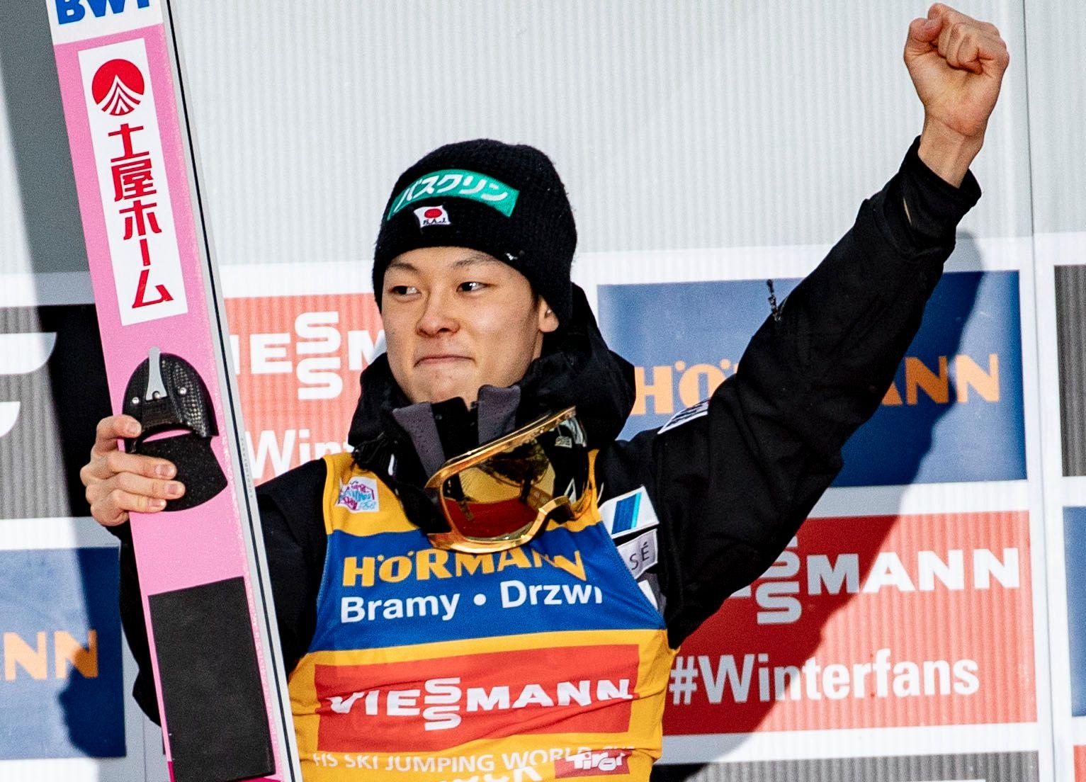 USLÅELIG: Ryoyu Kobayashi vant sitt fjerde strake konkurranse i Hoppuka.
