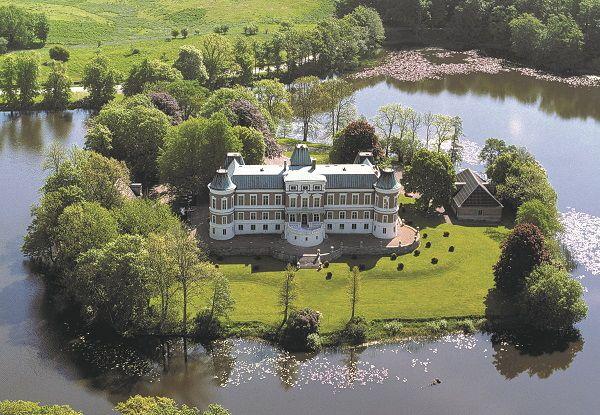 STASELIG: Häckeberga slott i Genarp.