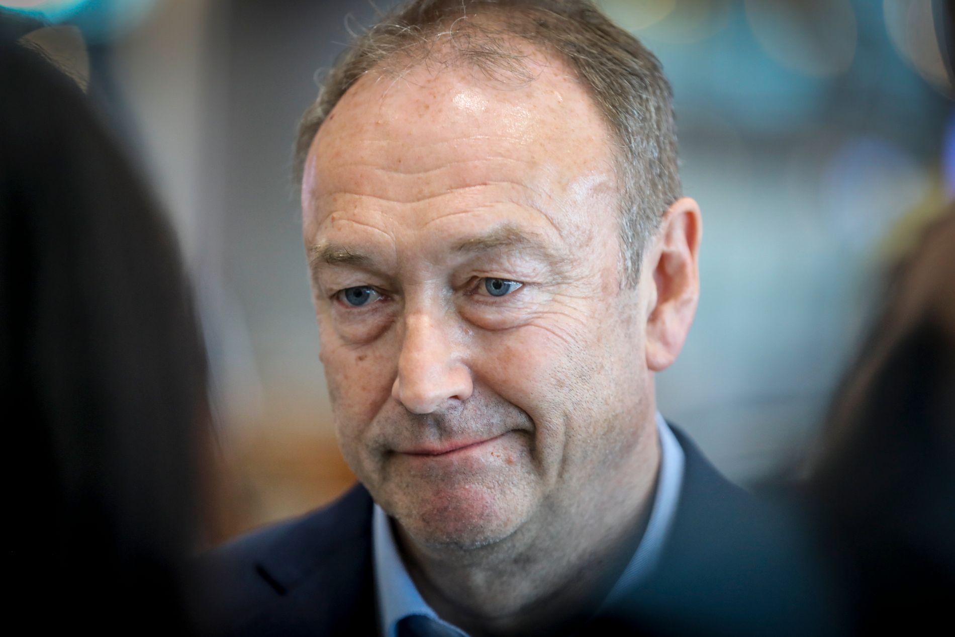 FLY MED TOMME SETER: Knut Morten Johansen, pressesjef i det streikerammede SAS, forteller til VG at det er flere av flyene som fortsatt gå som flyr med tomme seter.