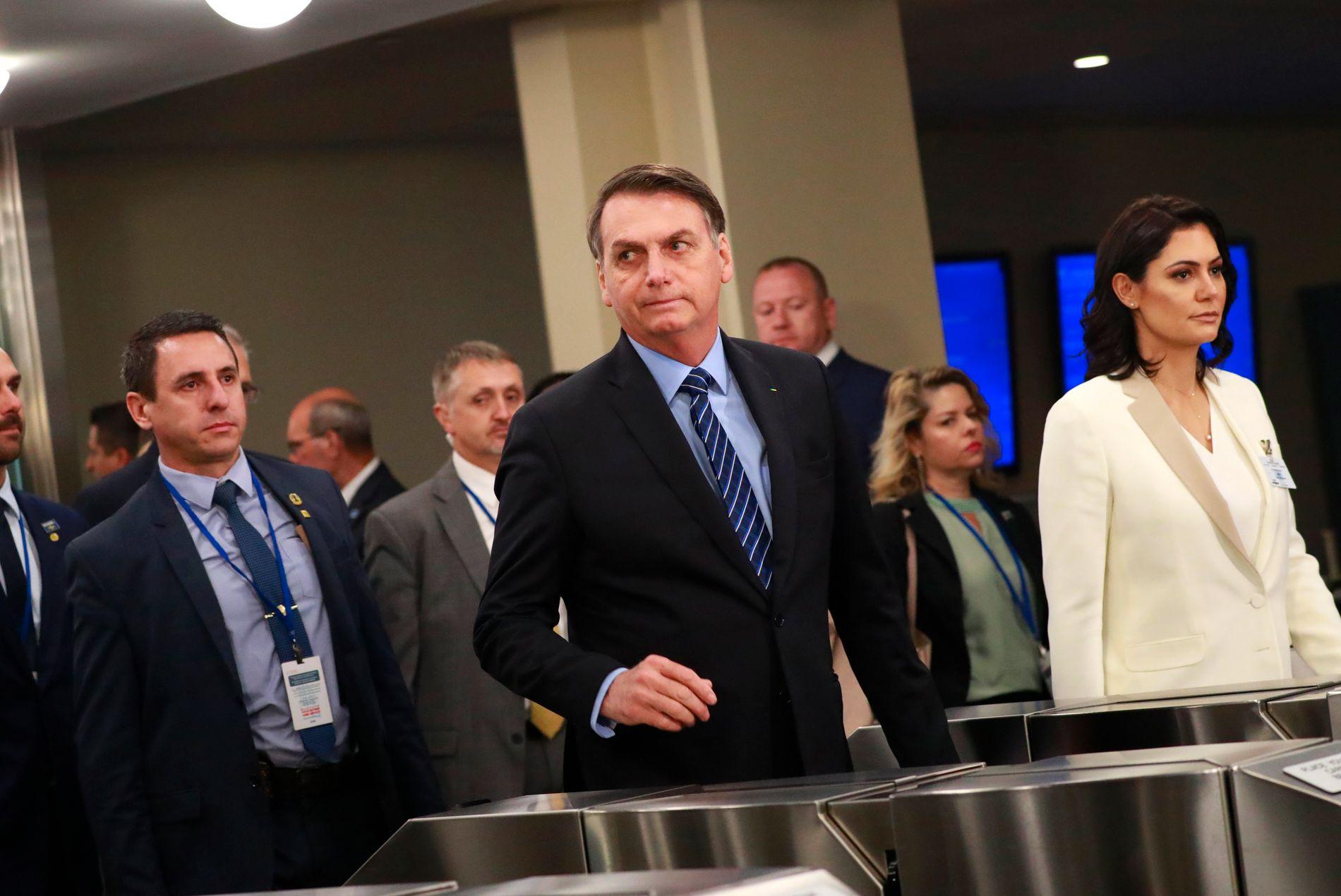 Bolsonaro gikk i strupen på verdenslederne