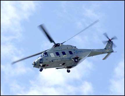 FOR DÅRLIGE?: Forsvarets nye enhetshelikopter NH90 ble presentert som et superhelikopter. Men NH90 har dårligere rekkevidde og kapasitet enn de over 30 år gamle SeaKing-helikoptrene de skal erstatte. Foto: RUNE THOMAS EGE