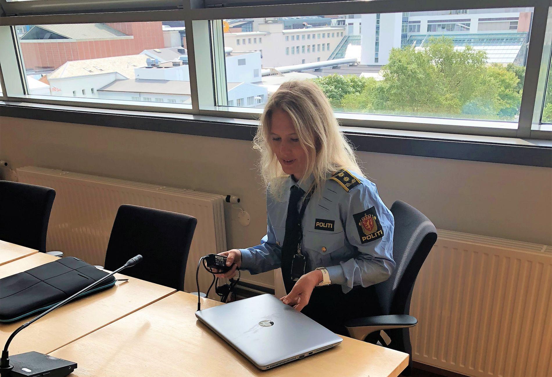 POLITIADVOKAT: Marte Benedicte Engesli Lysaker.