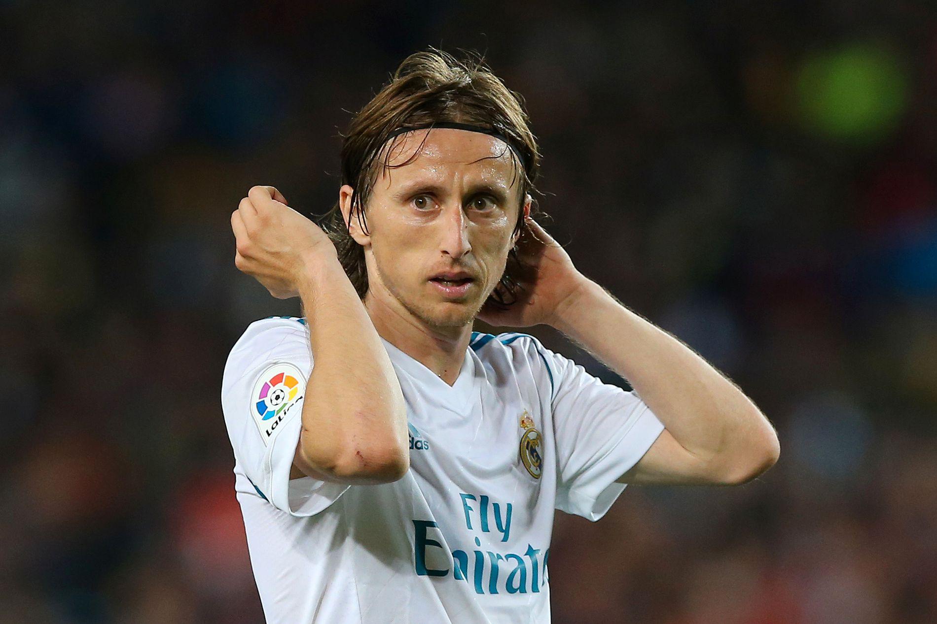 PÅ VEI BORT? Luka Modric er sterkt ønsket i Italia.