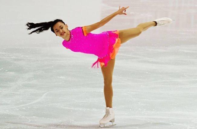 STERKE FRILØP: Camilla Gjersem (20) har klart VM-kravet to ganger denne sesongen. Her fra kortprogrammet i den internasjonale og tradisjonsrike konkurransen Nebelhorn Trophy i Oberstdorf i slutten av september. I Tallinn sist helg ble hun nummer fem og fikk dermed viktige rankingpoeng foran EM i slutten av neste måned.