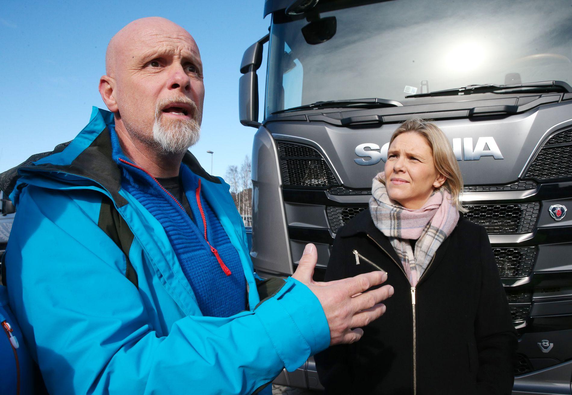 – BETYR ALT: Johnny Lie reiste ens ærend fra Sandnes til Oslo forrige uke for å forklare politikerne hvor mye jobben betyr.