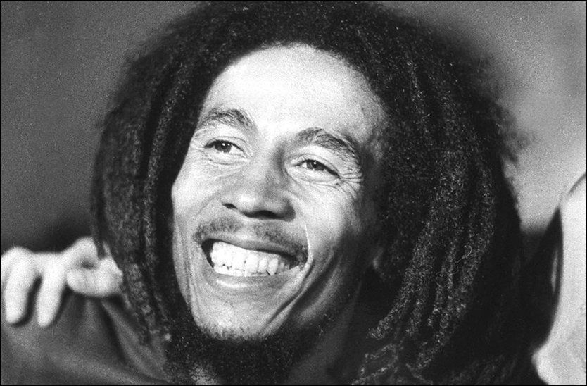 RAGGAE-KONGEN: Bob Marley (1945-1981). Foto: AFP