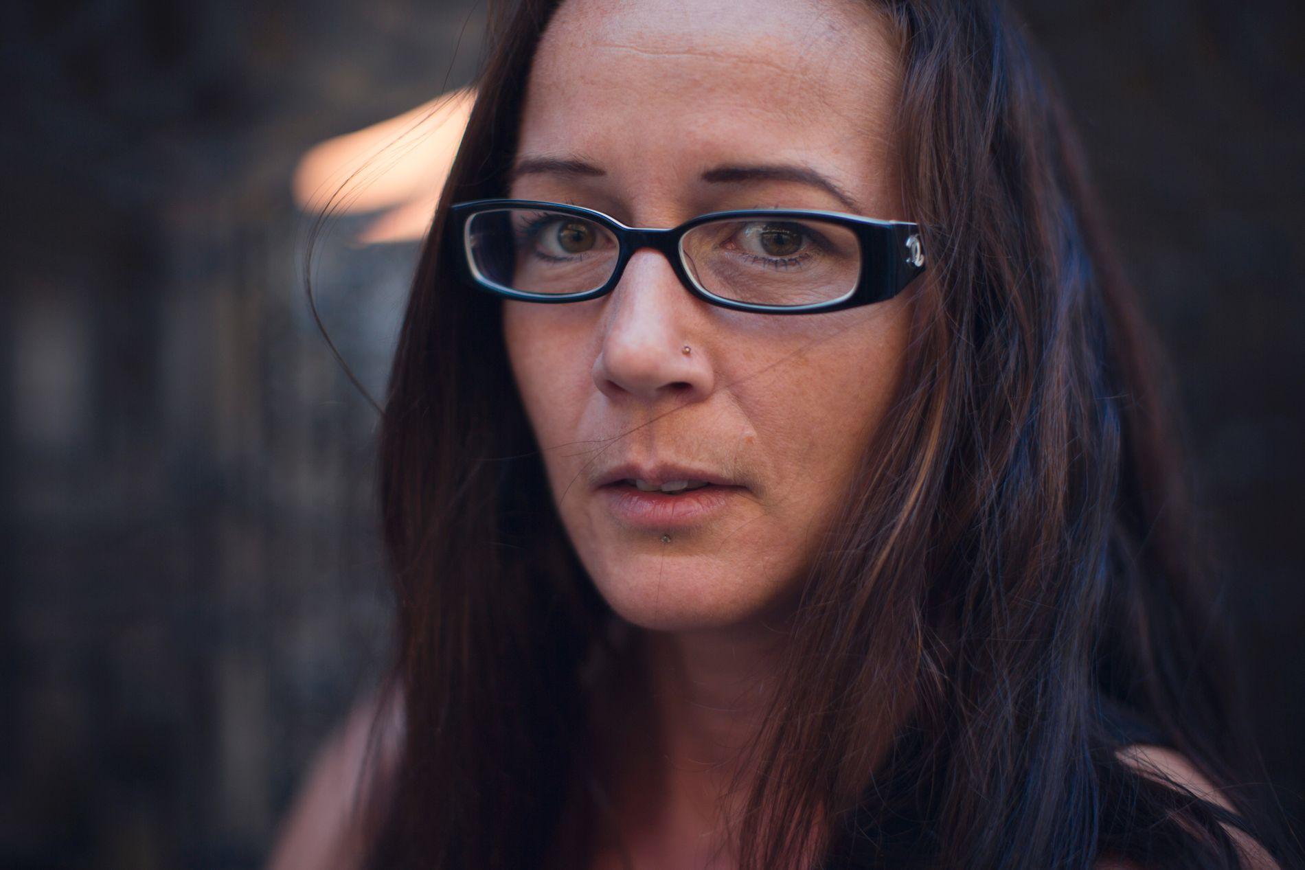 VONDE BILDER: Carole Chantelot var vitne til at en gutt ble fanget under hjulene på lastebilen torsdag.