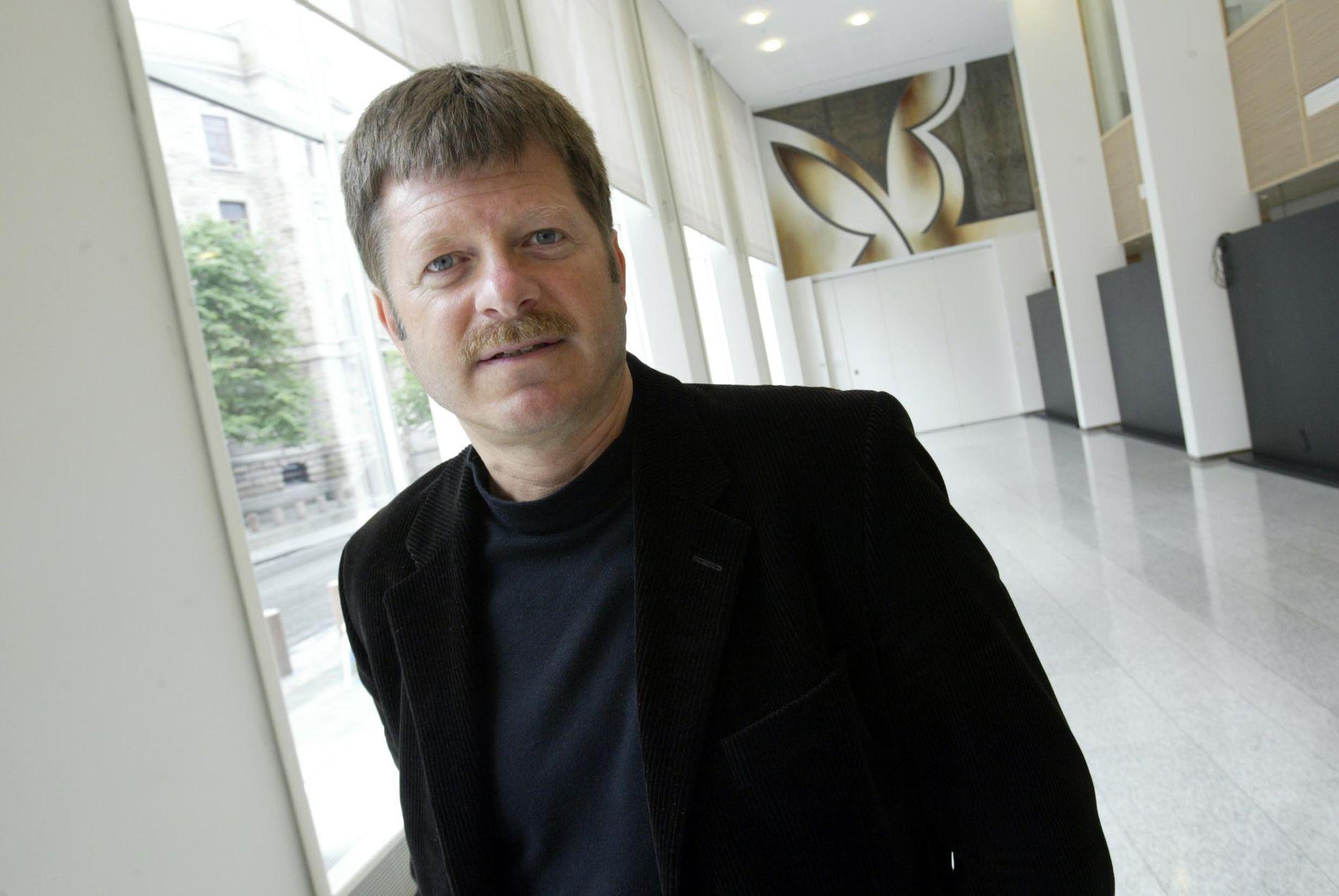 VIL IKKE MER: Odd Anders With fra den tiden han var nestleder og statssekretær i 2003.