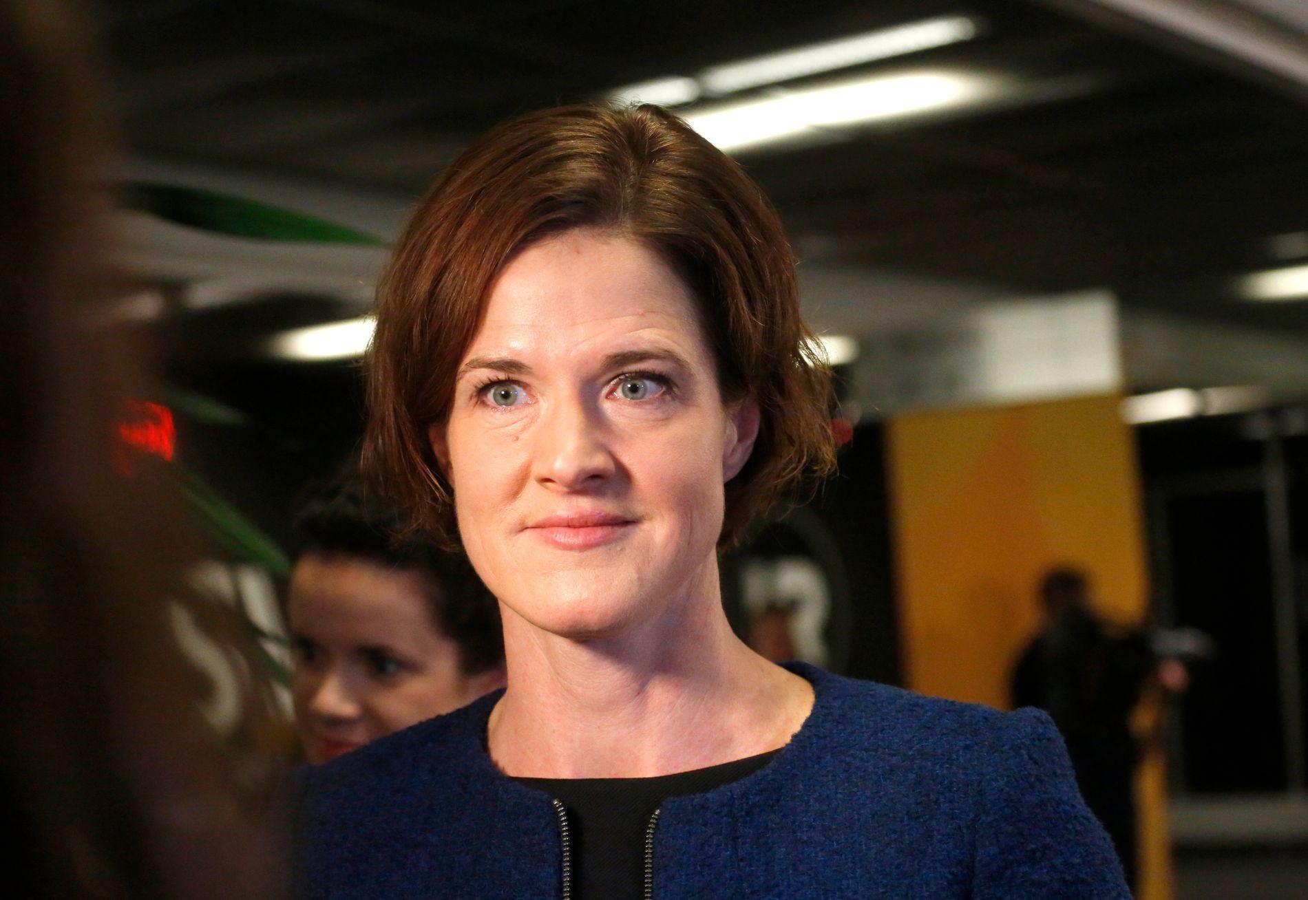 UNDER HARDT PRESS: Moderaterna-leder Anna Kinberg Batras karriere står på spill i det som omtales som partiets verste krise på 15 år. Her er den svenske politikeren avbildet i 2015.