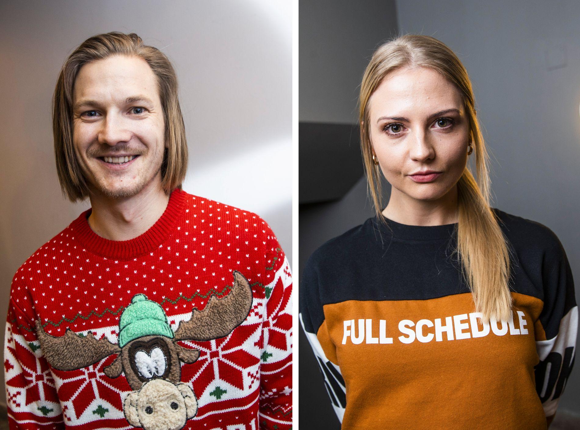 KJÆRESTER: Tidligere skihopper Tom Hilde og tidligere cheerleader Kine Olsen Vedelden.
