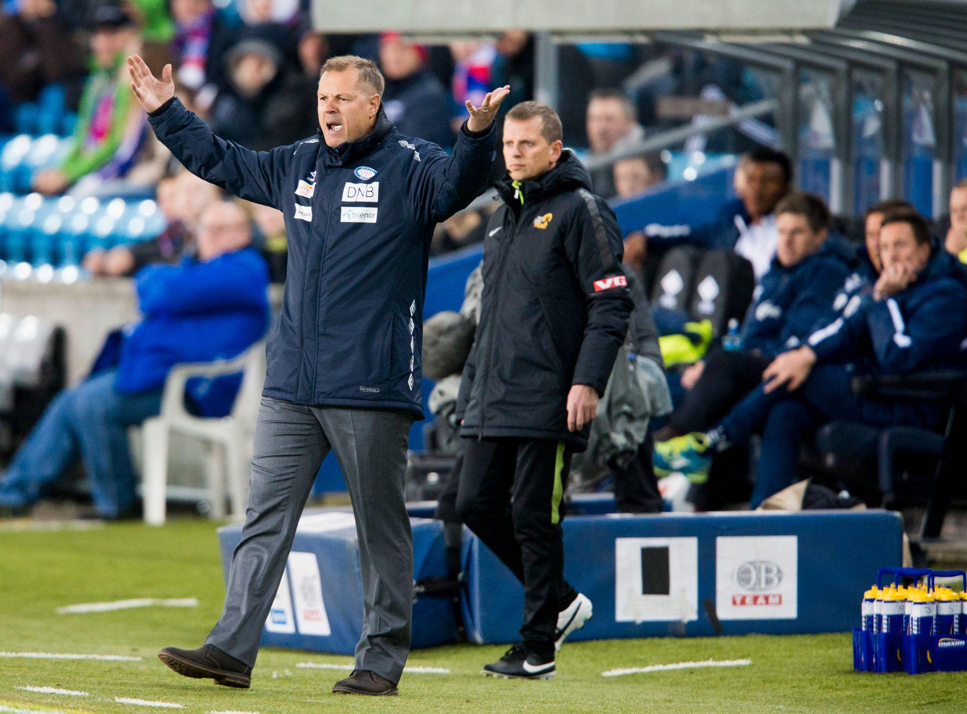 LØTEN-TREKNING: Kjetil Rekdal, her under oppgjøret mot Viking, møter Løten i cupen.