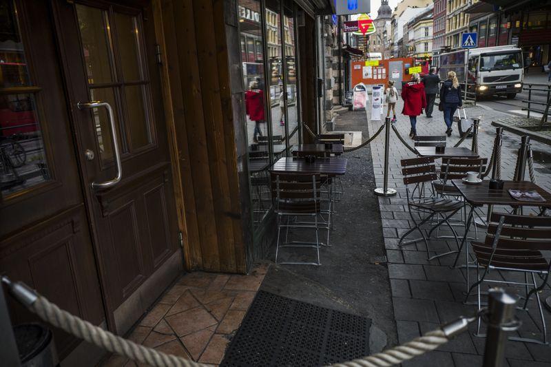 MØTEPLASS: Det var i denne puben i Oslo sentrum at de tre danske politiagentene jevnlig frekventerte og traff Nokas-raneren Metkel Betew og flere i hans påståtte narkoliga, deriblant to tiltalte brødre med bakgrunn fra Eritrea.