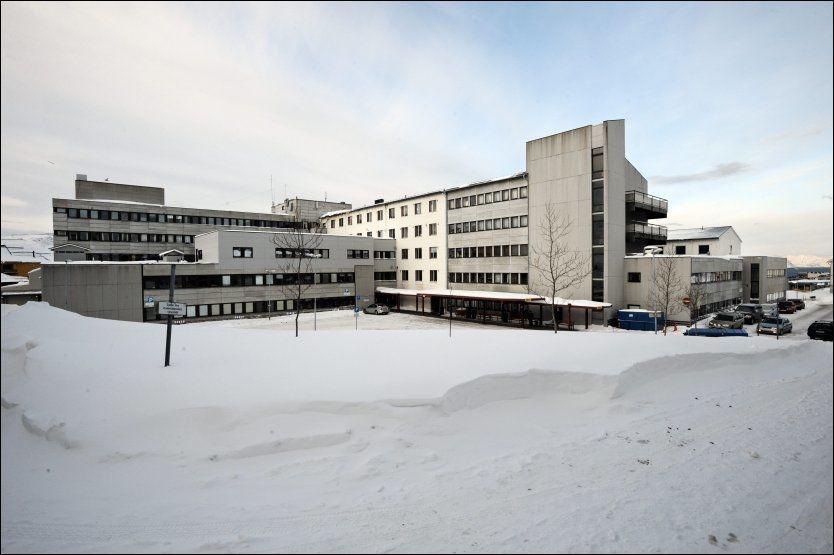 UNDERSØKES: Fylkesmannen i Finnmark har opprettet tilsynssak mot sykehuset i Hammerfest etter anklagene fra legene. Foto: Bjørn Erik Rygg Lunde