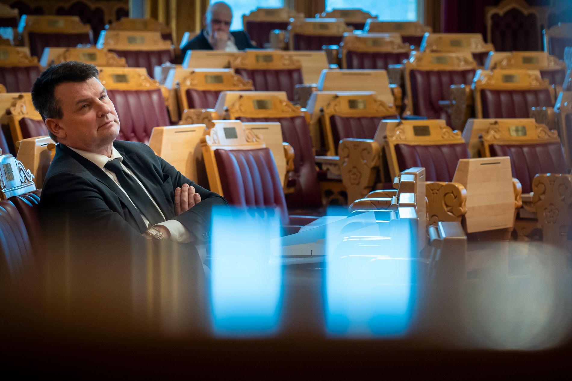 UTSATT: Justisminister Tor Mikkel Wara har vært rammet av en rekke trusler de siste månedene.