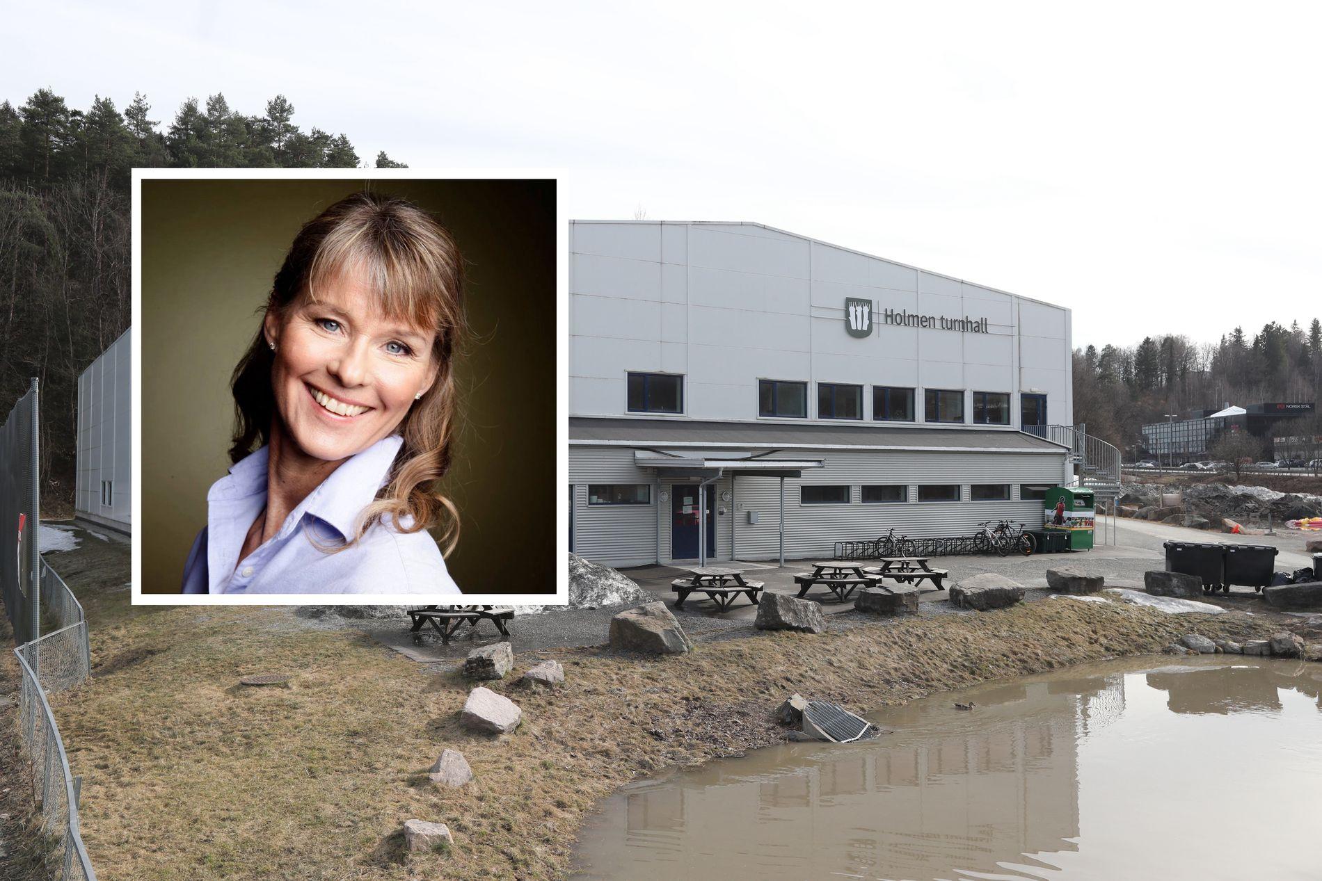 TURNBREV: Ledelsen i Holmen Tropp og Turn har fått et brev fra varslere som vil at klubben avslutter samarbeidet  med daglig leder Linda Gundersen (innfelt).