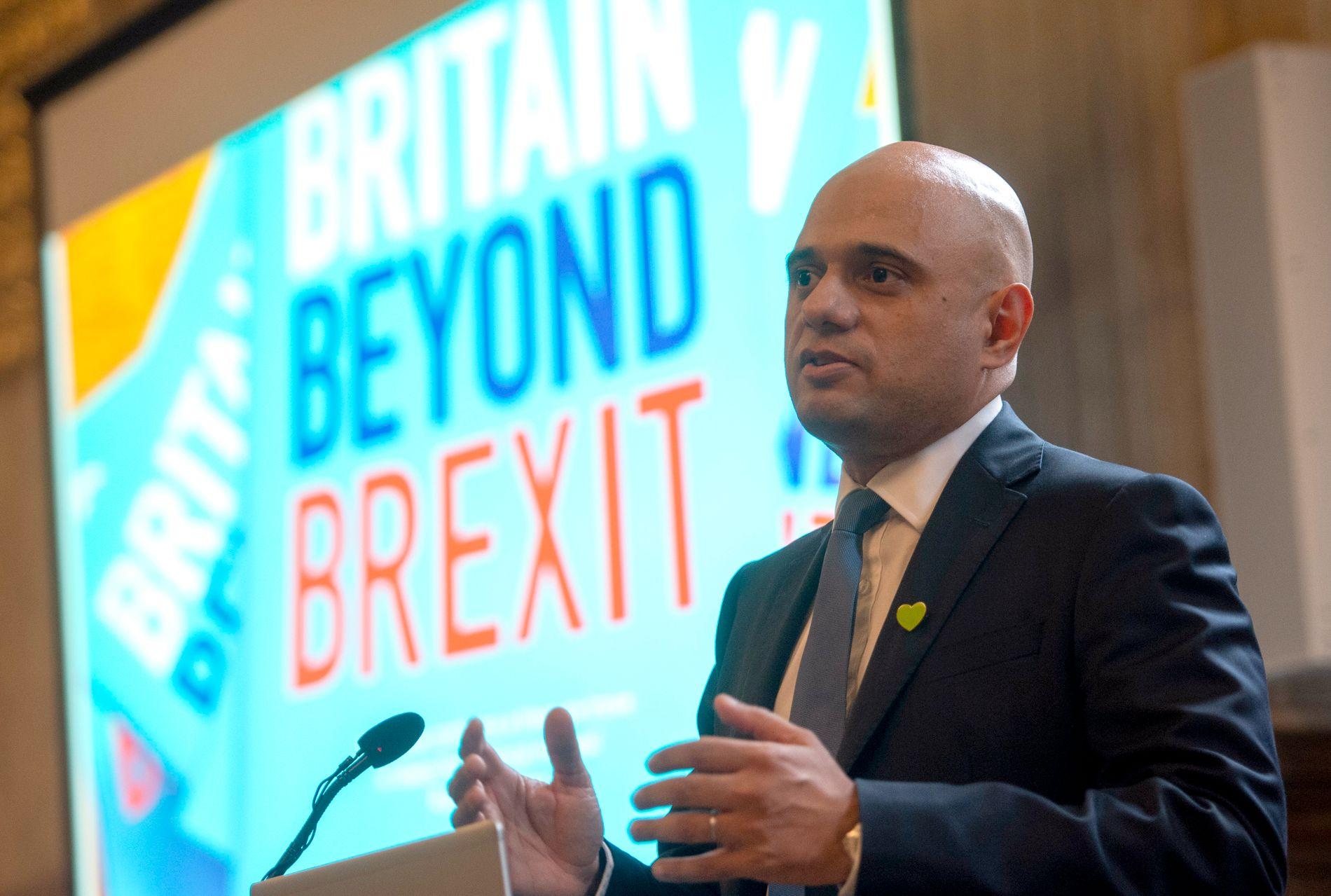 KANDIDAT: Sajid Javid er en av ti kandidater som vil bli britenes neste statsminister