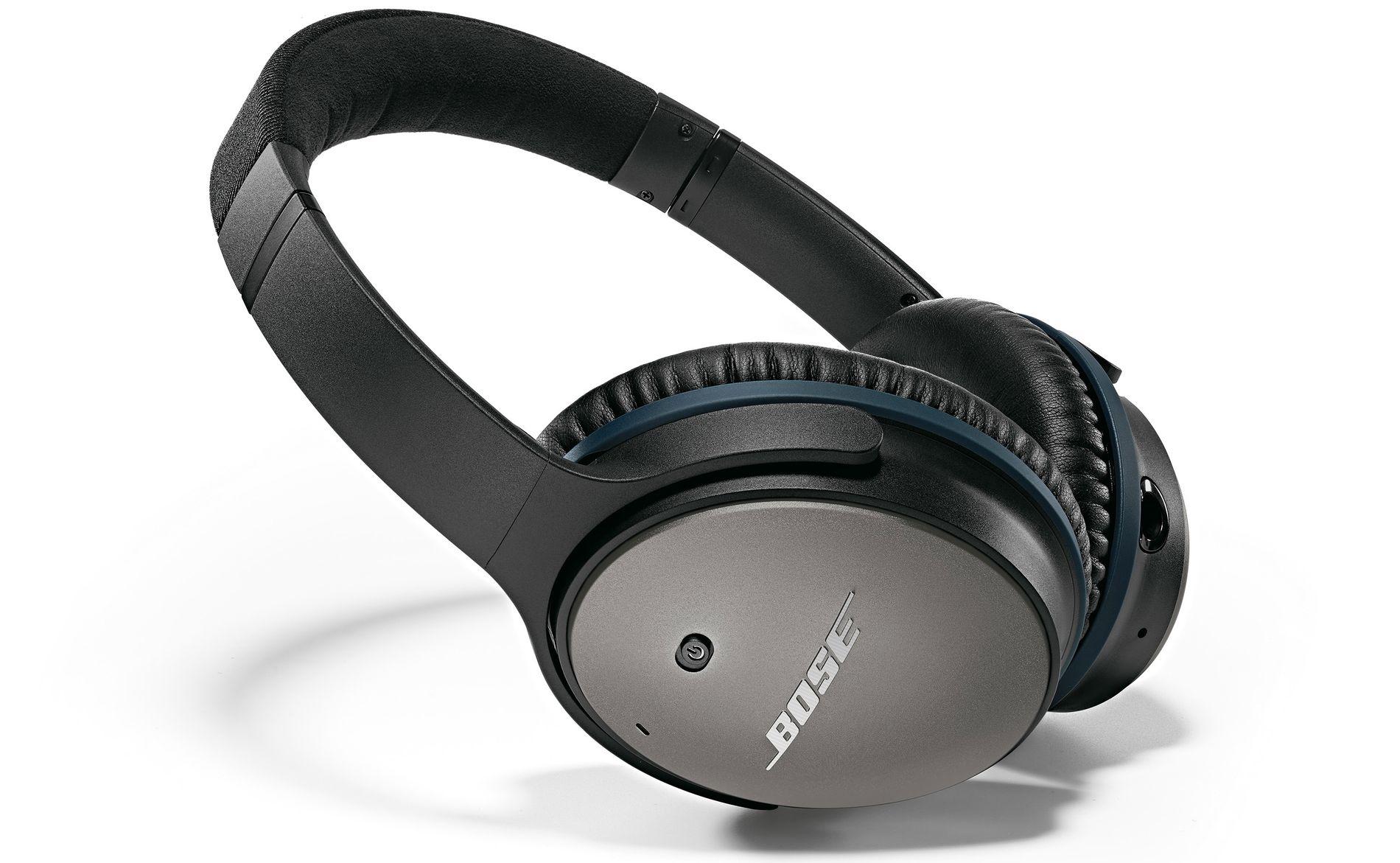POPULÆRE: Bose-hodetelefonene er blant markedets mest solgte hodetelefoner.