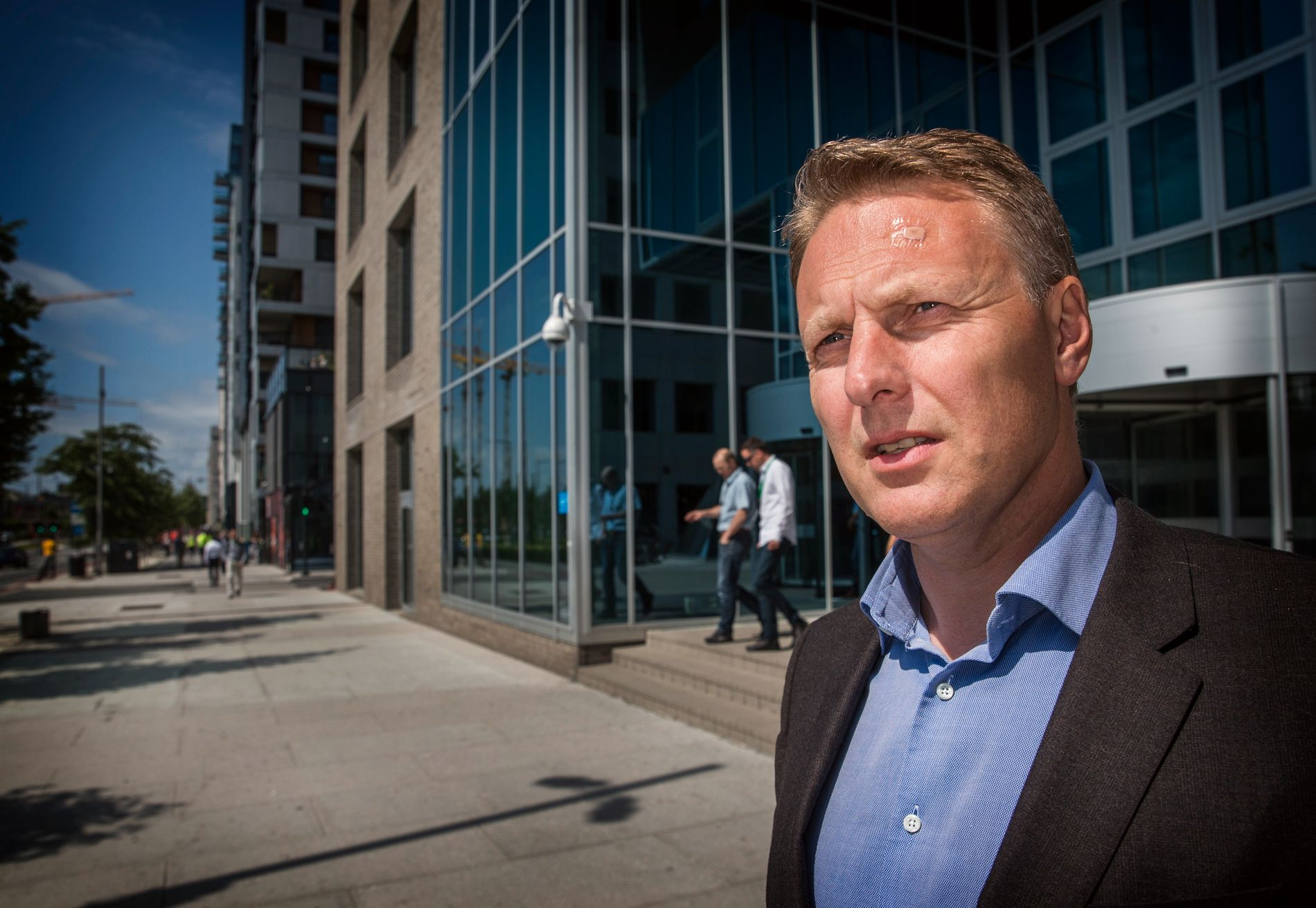 NEI TAKK: Konserndirektør for personmarkedet i DNB, Trond Bentestuen, mener for mange ikke ser fordelene ved å spare i fond.